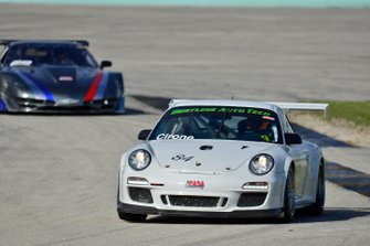 #84 MP1B Porsche 991 Cup driven by Marco Cirone of Mark Motors Racing