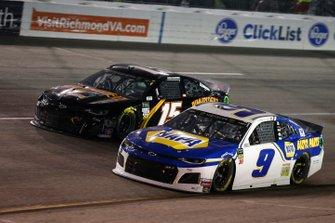Chase Elliott, Hendrick Motorsports, Chevrolet Camaro NAPA AUTO PARTS Ross Chastain, Premium Motorsports, Chevrolet Camaro