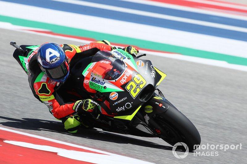 Capacete de Andrea Iannone - GP dos EUA