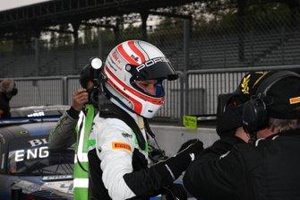 Race winner #54 Dinamic Motorsport Porsche 911 GT3 R: Klaus Bachler