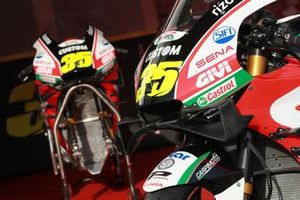 La moto di Cal Crutchlow, Team LCR Honda