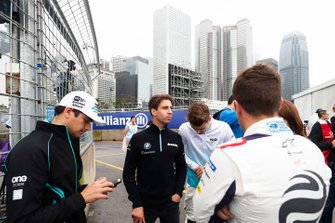 Nelson Piquet Jr., Panasonic Jaguar Racing, Antonio Felix da Costa, BMW I Andretti Motorsports