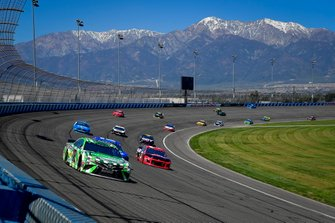 Kyle Busch, Joe Gibbs Racing, Toyota Camry Interstate Batteries, Austin Dillon, Richard Childress Racing, Chevrolet Dow Coatings