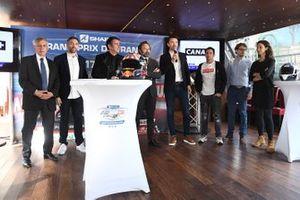 Presentación del GP de Francia, París