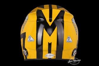 Helmet of Nico Hulkenberg, Renault F1 Team