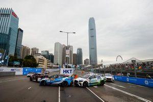 Darryl O'Young, Jaguar VIP y Sérgio Jimenez, Jaguar Brazil Racing