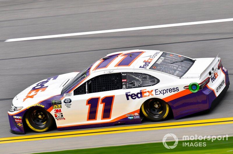 10. Denny Hamlin, Joe Gibbs Racing, Toyota Camry