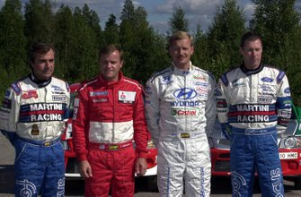 Carlos Sainz, Tommi Makinen, Juha Kankkunen e Colin McRae