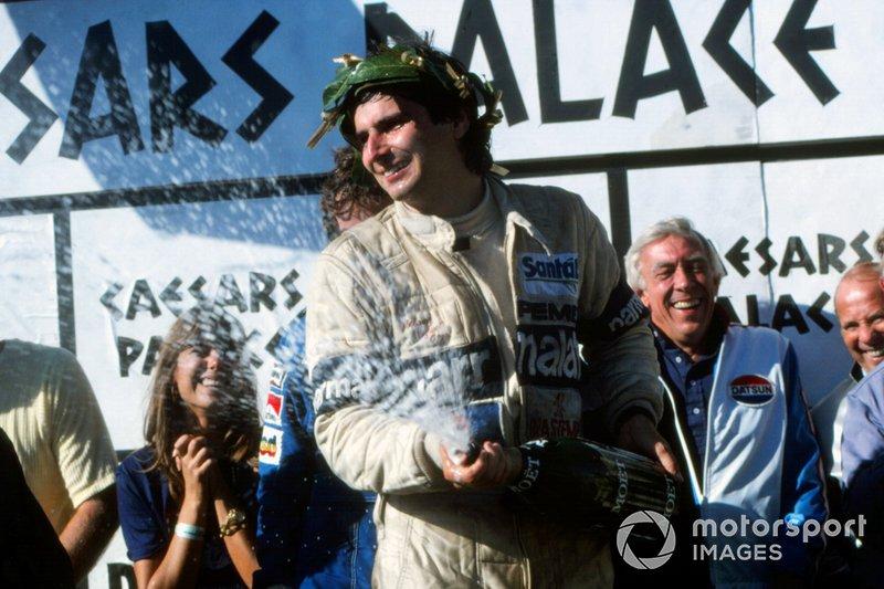 Nelson Piquet - de 1978 a 1991 - 204 corridas, 3 títulos (1981, 1983 e 1987), 23 vitórias