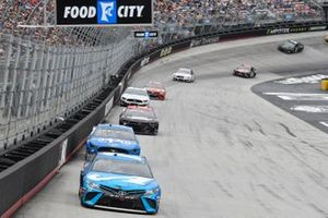 Martin Truex Jr., Joe Gibbs Racing, Toyota Camry Auto Owners Insurance, \Ryan Blaney, Team Penske, Ford Mustang PPG