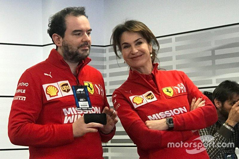 Silvia Hoffer Frangipane, addetta stampa Ferrari