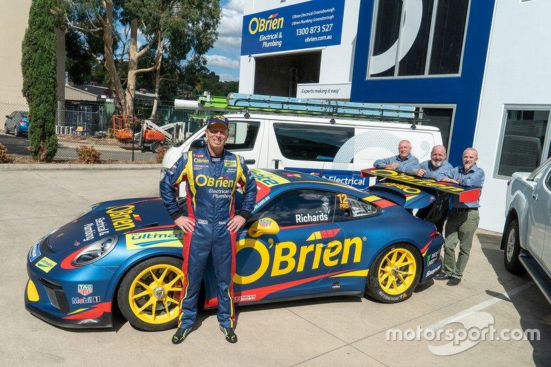 O'Brien Racing, Porsche PAYCE Carrera Cup Australia Contender unveil