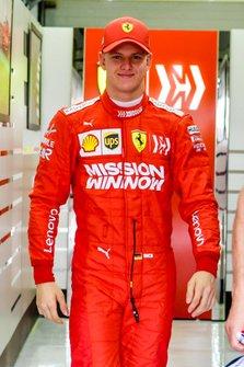 Мік Шумахер, Ferrari