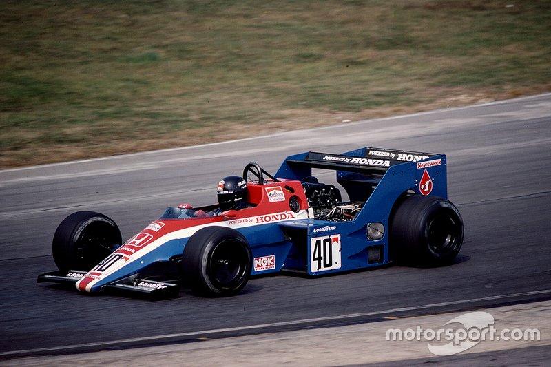 Stefan Johansson, Spirit 201 Honda