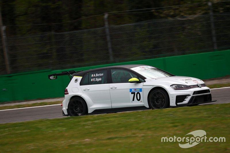 Alessandro Berton, Elite Motorsport, Volkswagen Golf GTI TCR DSG