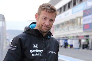 Jenson Button,(#1 RAYBRIG NSX-GT)