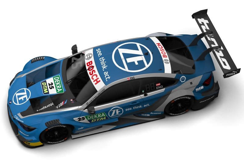 Philipp Eng, BMW M4 DTM design