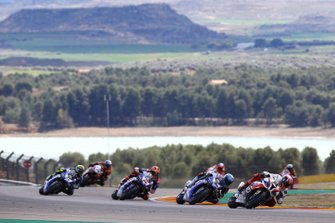 Tom Sykes, BMW Motorrad WorldSBK Team, Marco Melandri, GRT Yamaha WorldSBK, Michael van der Mark, Pata Yamaha