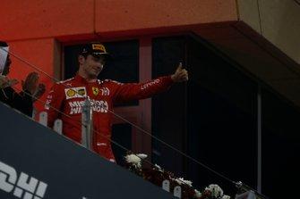 Podyum: 3. Charles Leclerc, Ferrari
