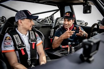 Nasser Al Attiyah en Jorge Lorenzo