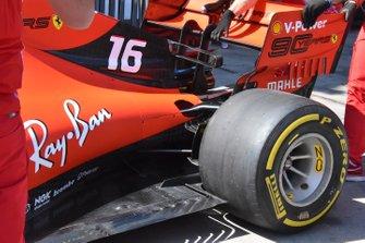 Ferrari SF90: fondo posteriore