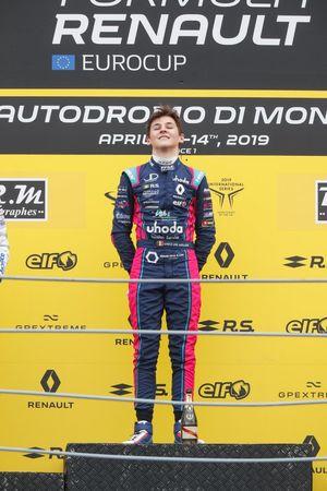 Podium: Race winner Ugo De Wilde, JD Motorsport