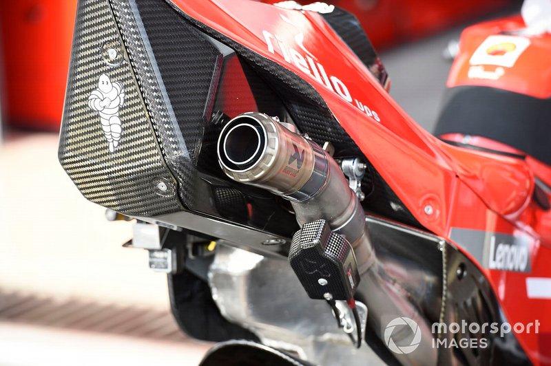 Scarico Ducati Team