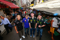 Takaaki Nakagami, Honda Team Asia, Jorge Lorenzo, Yamaha Factory Racing, Bradley Smith, Monster Yama