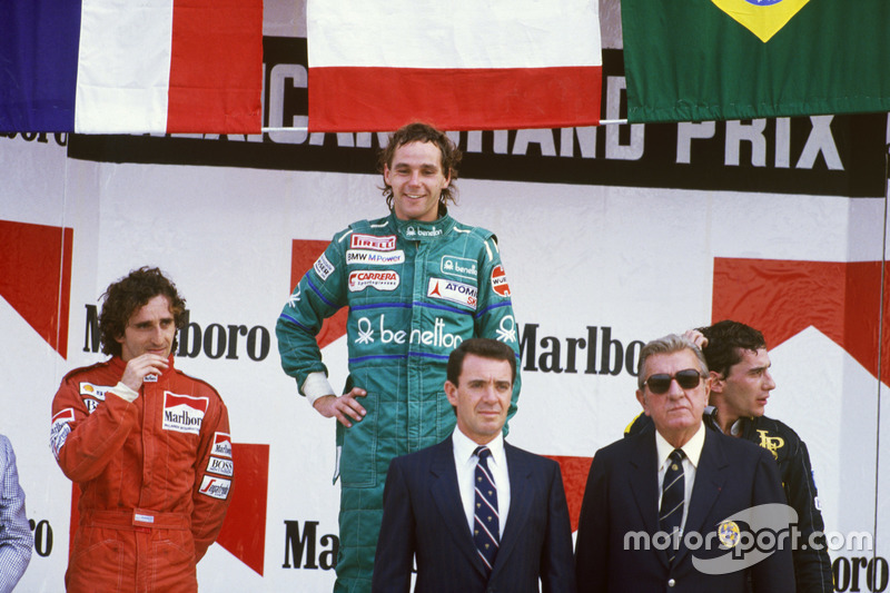 Gerhard Berger - 10 vitórias