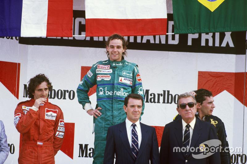 Gerhard Berger - 10 victorias