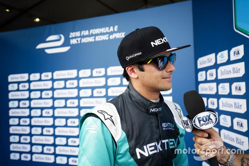 Pole position for Nelson Piquet Jr., NEXTEV TCR Formula E Team