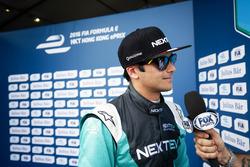 Pole: Nelson Piquet Jr., NEXTEV TCR Formula E Team