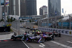 Митч Эванс, Jaguar Racing; Хосе-Мария Лопес, DS Virgin Racing