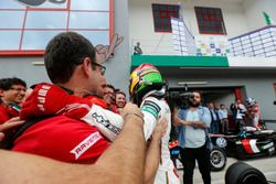 Yarış galibi Lance Stroll, Prema Powerteam Dallara F312 – Mercedes-Benz