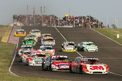Mariano Werner, Werner Competicion Ford, Matias Rossi, Donto Racing Chevrolet, Juan Pablo Gianini, J