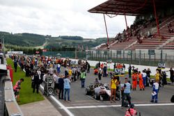 Griglia di partenza: George Russell, HitechGP, Dallara F312 - Mercedes-Benz