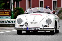 Hermann Samonigg, Thomas Billicsich, Porsche 356 A Speedster, Bj. 1957