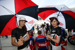 Lovely Honda girls