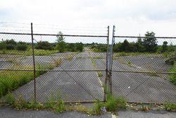 Eingang zum stillgelegten Nazareth Speedway
