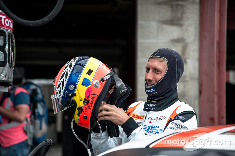 #30 Team Parker Racing, Bentley Continental GT3: Carl Rosenblad