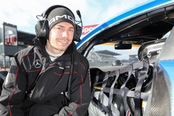 #9 AMG–Team Black Falcon Mercedes AMG GT3: Nico Bastian