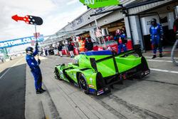 #40 Krohn Racing Ligier JS P2 - Nissan: Tracy Krohn, Nic Jonsson, Bjorn Wirdheim