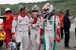 Yvan Muller, Citroën World Touring Car Team y Mehdi Bennani, Sébastien Loeb Racing, Citroën C-Elysée