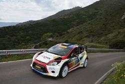 Tobia Cavallini, Sauro Farnocchia, Ford Fiesta WRC #8