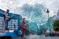 Podium : le vainqueur Lucas di Grassi, ABT Schaeffler Audi Sport, le deuxième, Jean-Eric Vergne, DS Virgin Racing