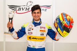Rookie second place Kush Maini, BVM Racing