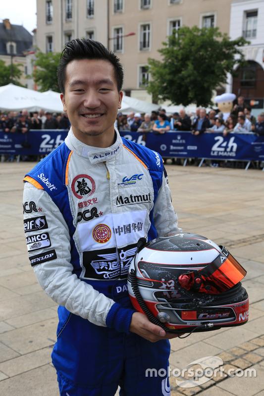 #35 Baxi DC Racing Alpine A460 - Nissan: Девід Ченг