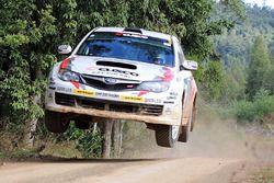 Mike Young, Malcolm Read, Subaru Impreza WRX STi