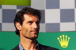 Mark Webber, pilote Porsche en WEC et consultant Channel 4