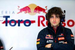Marco Matassa, ingeniero de carrera Scuderia Toro Rosso